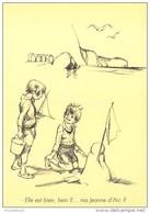 CPM Collection POULBOT - Menus Le Cornet 295° Diner 1932 - Elle Est Bien, Hein ? ... Ma Jeanne D'Arc - 2 Scans - Poulbot, F.