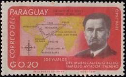 PARAGUAY - Scott #961 Italo Balbo / Mint NH Stamp - Paraguay