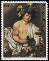 PARAGUAY - Scott #1496b Caravaggio / Mint H Stamp - Nudes