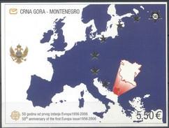Monténégro 2006 Yvertn° Bloc 3 *** MNH  Cote 25,00 Euro 50 Ans Europa 50 Jaar - Montenegro