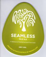REDWILLOW BREWERY (MACCLESFIELD, ENGLAND) - SEAMLESS PALE ALE - PUMP CLIP FRONT - Signs