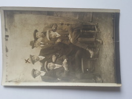 CARTES PHOTOS Anciennes GROUPE GARCONS FRATERIE CPA Animee Postcard - To Identify