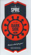 SPIRE BREWING CO (CHESTERFIELD, ENGLAND) - DARK SIDE RUBY - PUMP CLIP FRONT - Signs