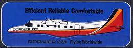 Avion Dornier 228 Autocollant Airplane Sticker - Stickers