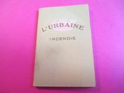 Mini Calendrier - Carnet / L'URBAINE/ Cie D'ASSURANCES/Incendie/Bd Haussmann Paris/ 1932             CAL377 - Calendriers