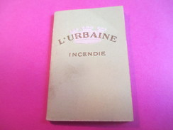 Mini Calendrier - Carnet / L'URBAINE/ Cie D'ASSURANCES/Incendie/Bd Haussmann Paris/ 1932             CAL377 - Calendars