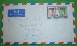 MONTSERRAT - Brief Letter Lettre 信 Lettera Carta письмо Brev 手紙 จดหมาย Cover Envelope (2 Foto)(33729) - Montserrat