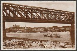 Starý Most, Bratislava, 1937 - Fotka Pohľadnice - Slovakia