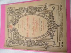 Calendrier De Luxe Très Grand Format/offert Par La BELLE JARDINIERE/Grandes Dames D'Autrefois/NATTIER/Angers/1908 CAL381 - Calendriers