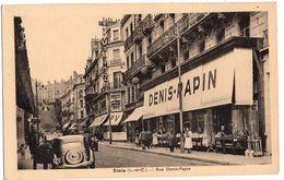 BLOIS   Magasin DENIS PAPIN   2 Scans - Blois