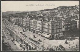 Les Boulevards Et L'Hôtel De Ville, Alger, Algerie, C.1910 - AL CPA - Algiers