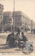 NAPOLI.- PIAZZA DELLA BORSA E CUCINA AMBULANTE - Napoli (Naples)