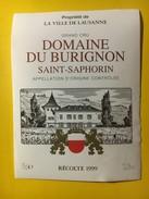 5762 - Domaine De Burignon 1999 Saint-Saphorin Propriété De La Ville De Lausanne Suisse - Bordeaux