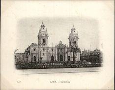 Campagne DUGUAY-TROUIN 1902-1903 - Voilier - Expédition - PEROU - LIMA - Cathédrale - Pérou