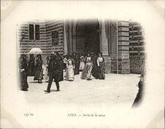 Campagne DUGUAY-TROUIN 1902-1903 - Voilier - Expédition - PEROU - LIMA - Sortie De Messe - Pérou