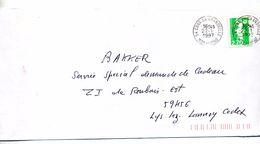 Lettre Cachet Cons - Marcophilie (Lettres)