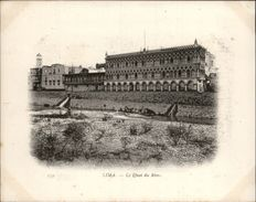 Campagne DUGUAY-TROUIN 1902-1903 - Voilier - Expédition - PEROU - LIMA - QUAI DU RIMAC - Pérou