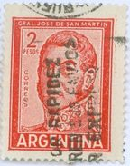 ARGENTINA, COMMEMORATIVO, GENERALE SAN MARTIN, 1961, FRANCOBOLLI USATI Scott 691 - Argentina