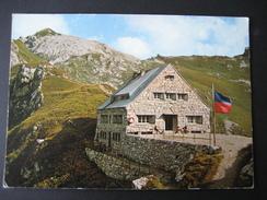 AK Liechtenstein, Pfälzerhütte Bettlerjoch 2711 M - Liechtenstein