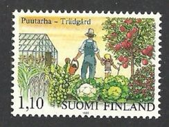 FINLAND 1982 PLANTS VEGETABLES FRUIT APPLE TREES GARDENING SET MNH - Finland
