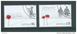 Australia 2011 War Remembrance Day Set 2 VFU Melbourne CTO - Used Stamps