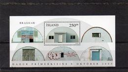 ISLANDE 2003 ** - Blocs-feuillets