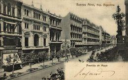 BUENOS AIRES AVENIDA DE MAYO    ARGENTINA - Argentina