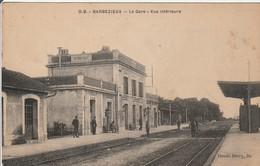 CPA : BARBEZIEUX  La Gare - Francia