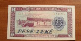 1976 - Albanie - Albania - 5 LEKE - ID 519795 - Albanie
