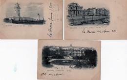 Le Havre 3 Postcards - Sonstige