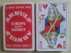 Sirop ARNULF à DRAP Depuis 1924. Jeu Usagé De 32 Cartes Sans étui - Cartes à Jouer Classiques