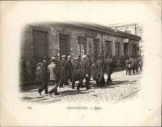 Campagne DUGUAY-TROUIN 1902-1903 - Voilier - Expédition - CHILI - CONCEPCION - Défilé - Chile