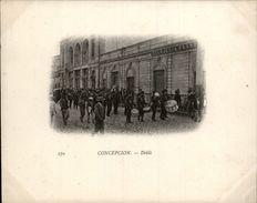 Campagne DUGUAY-TROUIN 1902-1903 - Voilier - Expédition - CHILI - CONCEPCION - Défilé - Chili