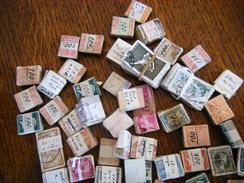 Vrac En Bottes De Timbres Français - Stamps