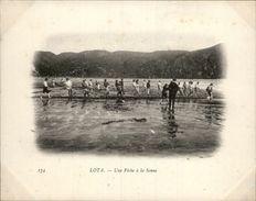Campagne DUGUAY-TROUIN 1902-1903 - Voilier - Expédition - CHILI - LOTA - Une Pêche à La Senne - Chili