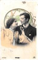 [DC11158] CPA - COPPIA - Viaggiata 1905 - Old Postcard - Coppie