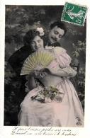 [DC11162] CPA - COPPIA - Viaggiata 1909 - Old Postcard - Coppie