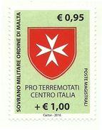 2016 - Sovrano Militare Ordine Di Malta 1327 Stemma - Francobolli