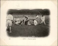 Campagne DUGUAY-TROUIN 1902-1903 - Voilier - Expédition - CHILI - LOTA - Exercices Sportifs - Chili