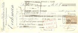 TRAITE 1924 EECKMAN VINAIGRERIE ET HUILERIE DE SECLIN - VINAIGRE HUILE - Alimentaire