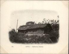 Campagne DUGUAY-TROUIN 1902-1903 - Voilier - Expédition - CHILI - LOTA - Habitation D'indiens - Chili
