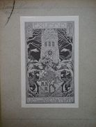 Australie - Ex-libris Illustré - U.S. Van NIEUWKUYK - Ex-libris