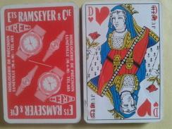 EREC Horlogerie De Précision.LUNEVILLE Ets Ramseyer. Jeu Usagé De 32 Cartes Sans étui - Playing Cards (classic)