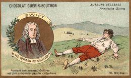 CHOCOLAT  GUERIN BOUTRON MIRABEAU A MR DE DREUX BREZEAUTEURS CELEBRES LES VOYAGES DE GULLIVER - Guerin Boutron