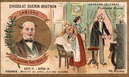 CHOCOLAT  GUERIN BOUTRON MIRABEAU A MR DE DREUX BREZEAUTEURS CELEBRES LA POUDRE AUX YEUX - Guerin Boutron