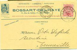 Imprimerie - Librairie - Papéterie Bossart - Delhaye à Bastogne : 1920 - Printing & Stationeries