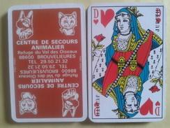 Jeu Usagé De 32 Cartes Sans étui. CENTRE DE SECOURS ANIMALIER 88600 Brouvelieures - Playing Cards (classic)