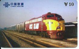 Train Trein Rail Télécarte Phonecard  (D.200) - Chine