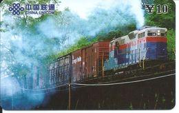 Train Trein Rail Télécarte Phonecard  (D.201) - Chine