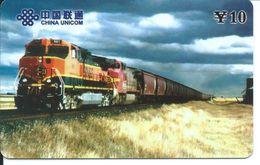 Train Trein Rail Télécarte Phonecard  (D.202) - Chine